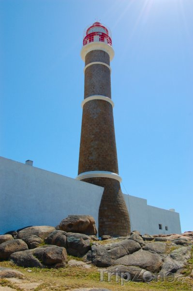 Fotka, Foto Maják u vesničky Cabo Polonio (Uruguay)
