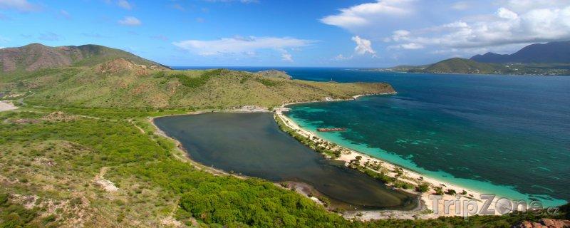 Fotka, Foto Major's Bay panorama (Svatý Kryštof a Nevis)