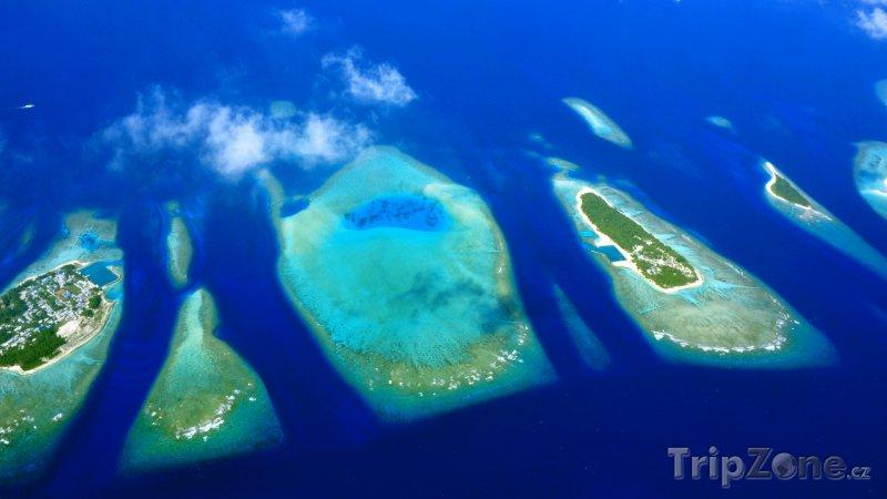 Fotka, Foto Maledivské atoly (Maledivy)