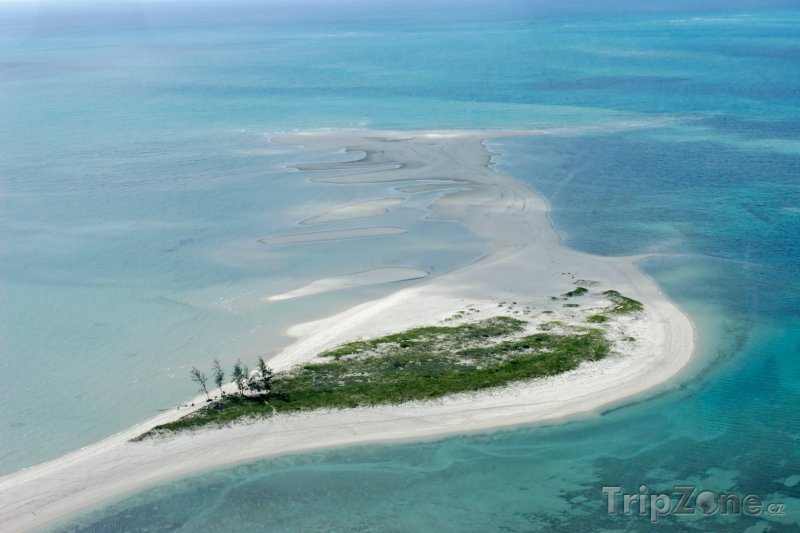 Fotka, Foto Malý ostrůvek u Mosambiku (Mosambik)