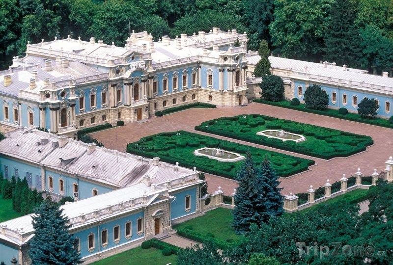 Fotka, Foto Mariinského palác (Kyjev, Ukrajina)