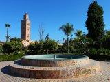 Mešita Koutoubia v Marrákeši
