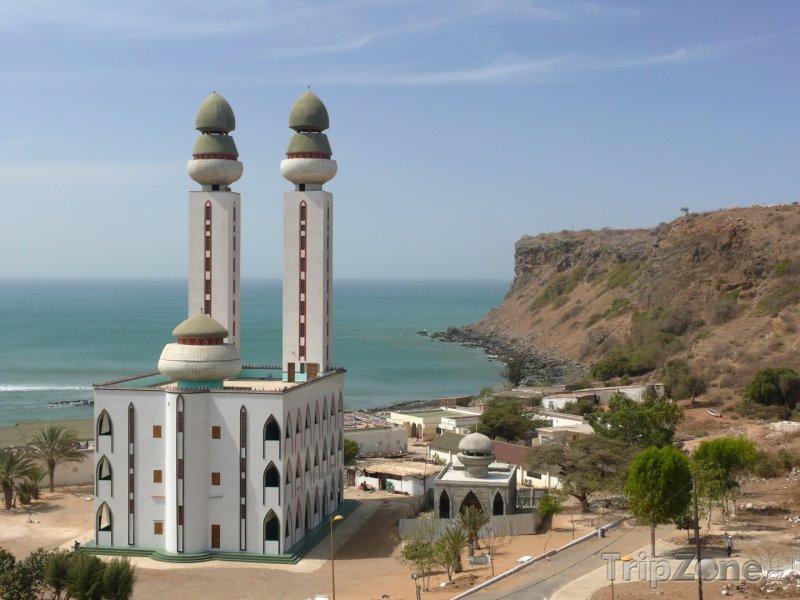 Fotka, Foto Mešita u města Dakar (Senegal)