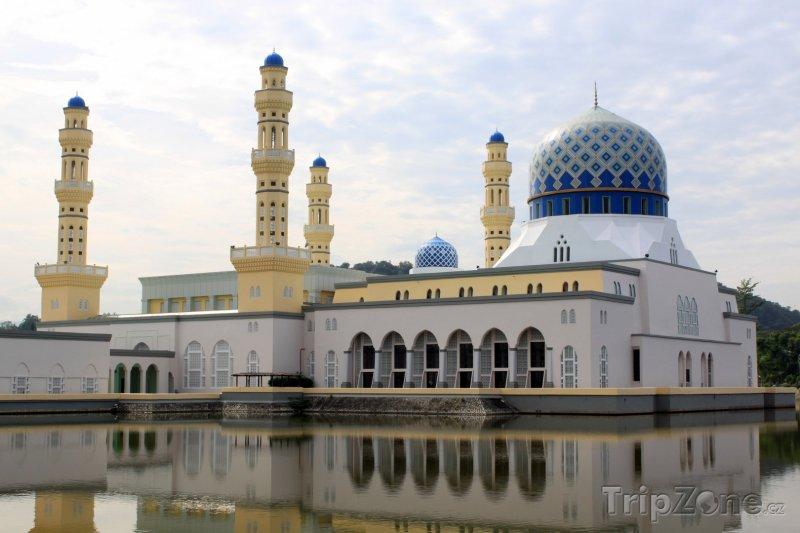 Fotka, Foto Mešita v Kota Kinabalu (Malajsie)
