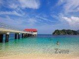Molo na ostrově Redang