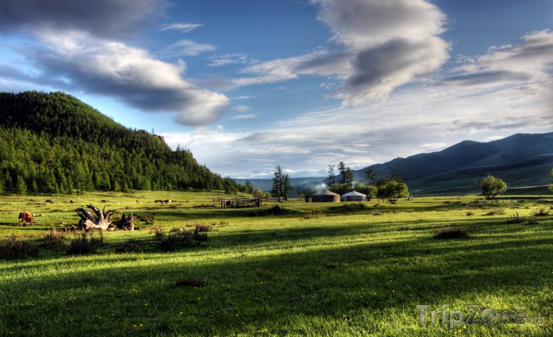 Fotka, Foto Mongolská krajina (Mongolsko)