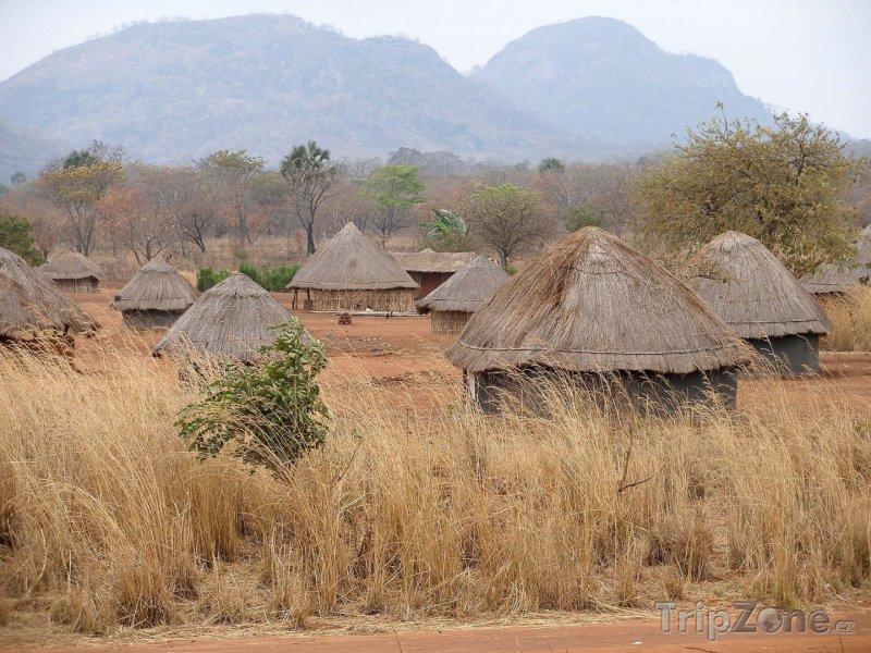 Fotka, Foto Mosambická vesnice (Mosambik)