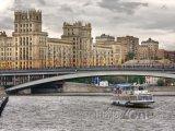 Moskva, parník na řece Moskvě
