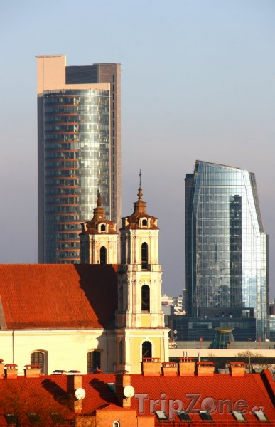 Fotka, Foto Mrakodrapy ve Vilniusu (Litva)