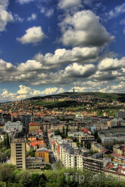 Fotka, Foto Mraky nad Bratislavou (Slovensko)