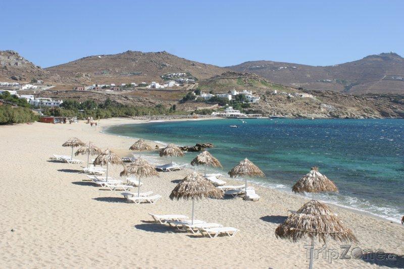 Fotka, Foto Mykonos, pláž Kalafati (Řecko)