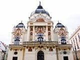 Národní divadlo ve městě Pécs