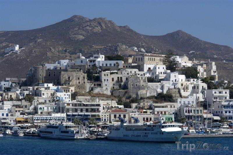 Fotka, Foto Naxos, přístav (Řecko)