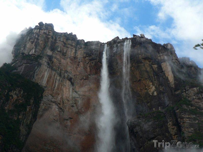 Fotka, Foto Nejvyšší vodopád světa Salto Ángel (Venezuela)