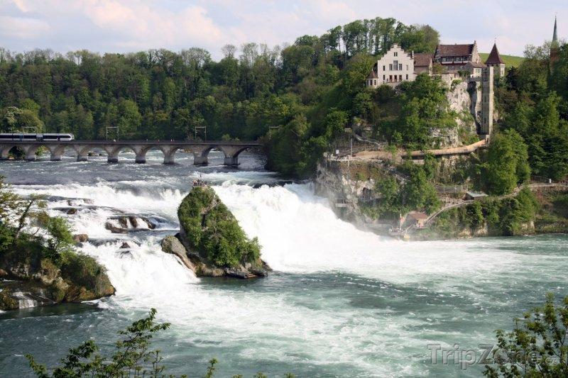 Fotka, Foto Neuhausen, vodopády na Rýnu (Švýcarsko)