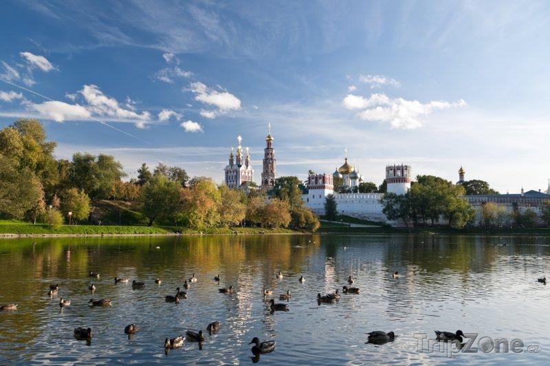 Fotka, Foto Novoděvičí klášter v Moskvě (Rusko)