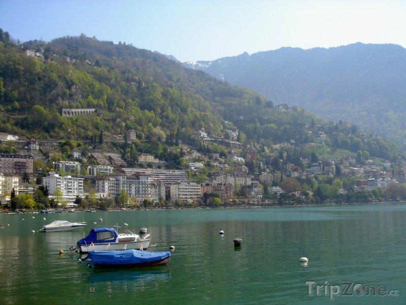 Fotka, Foto Obec Montreux v okerese Vevey (Švýcarsko)