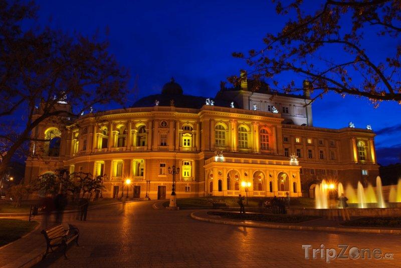 Fotka, Foto Oděsa, Akademické divadlo opery a baletu (Ukrajina)