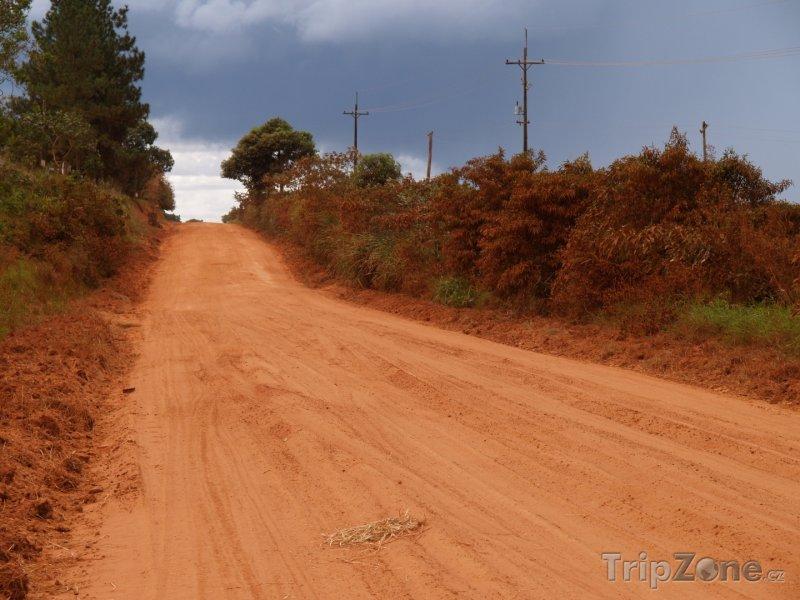 Fotka, Foto Okresní cesta na venkově (Paraguay)
