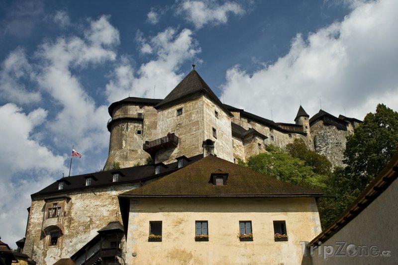 Fotka, Foto Oravský hrad v obci Oravský Podzámok (Slovensko)
