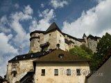 Oravský hrad v obci Oravský Podzámok