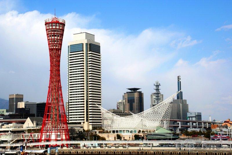 Fotka, Foto Ósaka, věž Tsūtenkaku (Japonsko)
