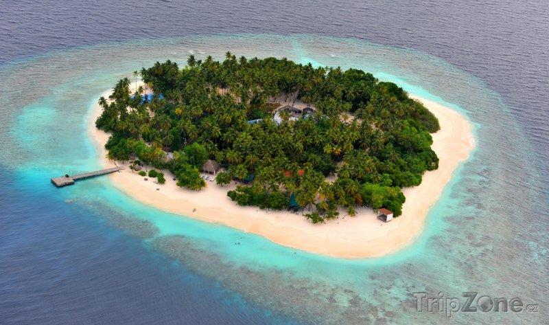 Fotka, Foto Ostrůvek Filitheyo (Maledivy)