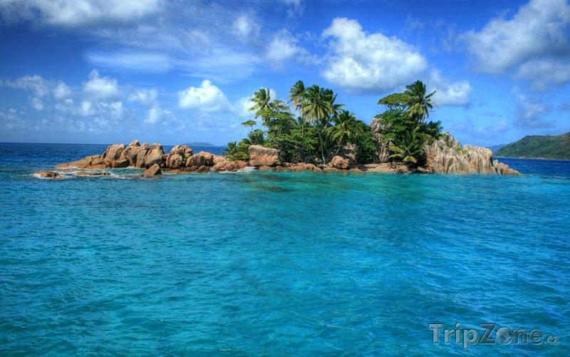 Fotka, Foto Ostrůvek St. Pierre (Seychely)