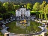 Palác Linderhof uměsta Oberammergau