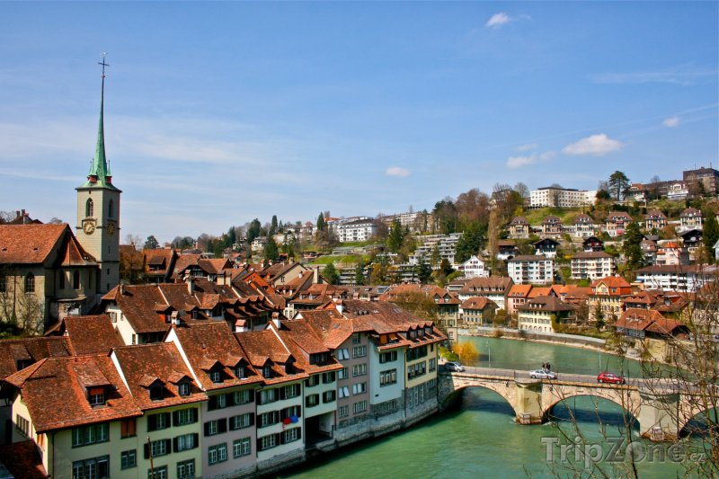 Fotka, Foto Panorama Bernu (Švýcarsko)