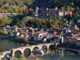 Panorama města Heidelberg