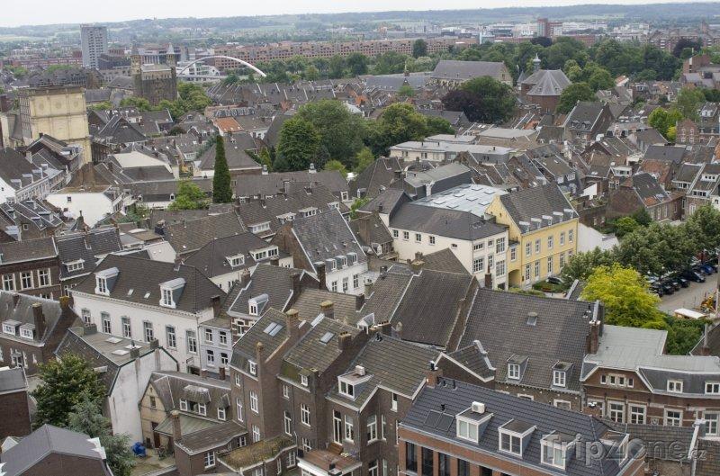 Fotka, Foto Panorama města Maastricht (Nizozemsko)