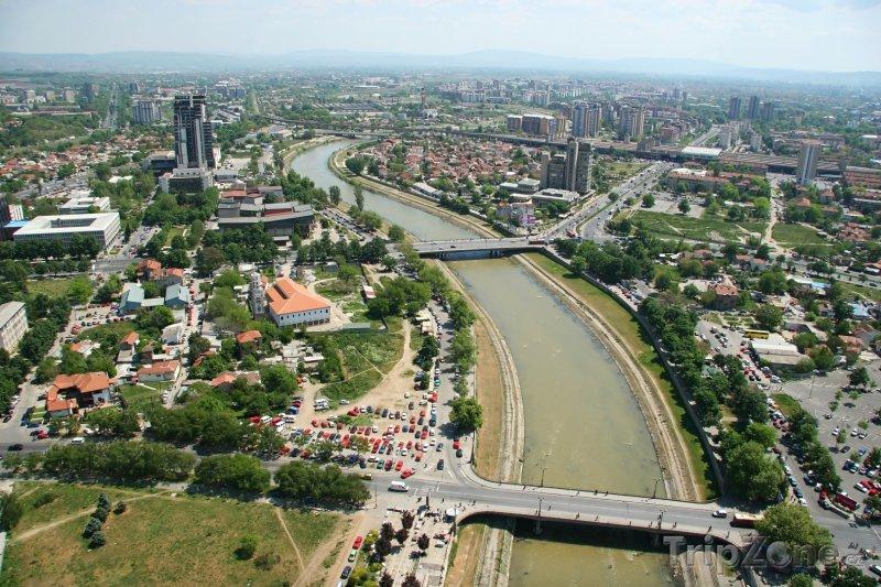 Fotka, Foto Panorama města (Skopje, Makedonie)