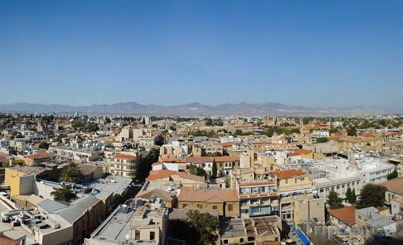 Fotka, Foto Panorama Nikósie (Nikósie, Kypr)