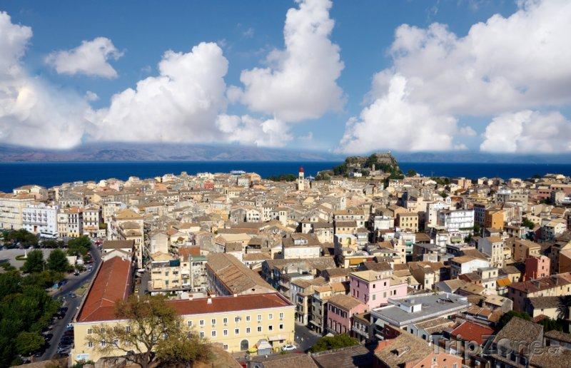 Fotka, Foto Panorama ostrova Korfu (Řecko)