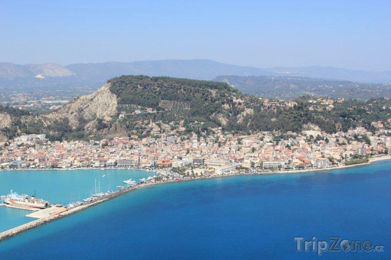 Fotka, Foto Panorama Zakynthosu (Řecko)