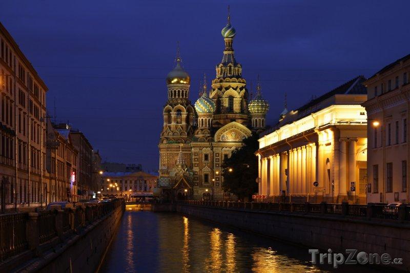 Fotka, Foto Petrohrad, chrám Kristova vzkříšení (Rusko)
