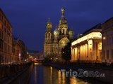 Petrohrad, chrám Kristova vzkříšení