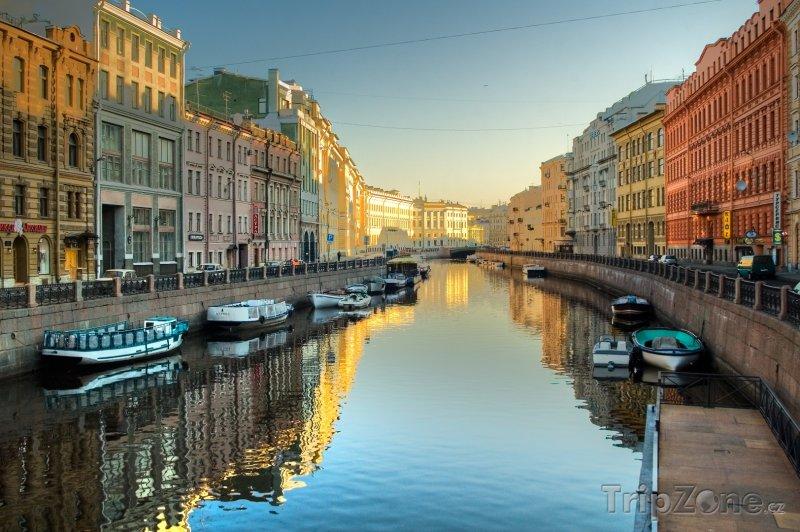 Fotka, Foto Petrohrad, kanál Griboyedov (Rusko)