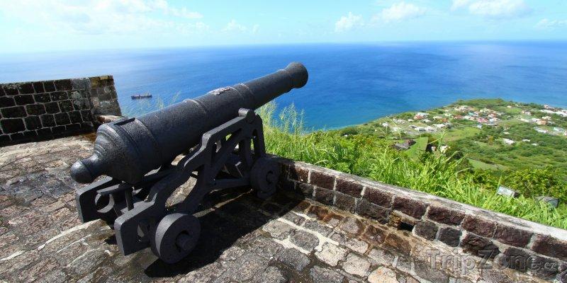 Fotka, Foto Pevnost Brimstone Hill (Svatý Kryštof a Nevis)