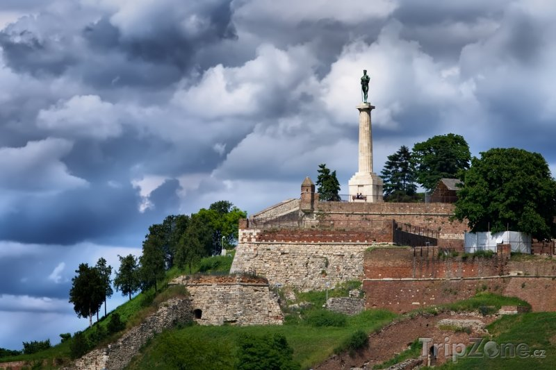 Fotka, Foto Pevnost Kalemegdan (Bělehrad, Srbsko)