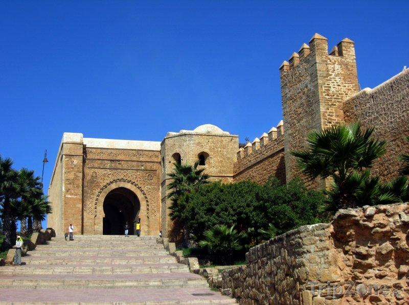 Fotka, Foto Pevnost Udayas v Rabatu (Maroko)