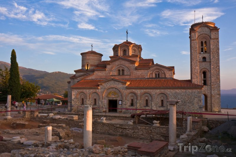 Fotka, Foto Plaošnik, klášter Sv. Klementa (Makedonie)