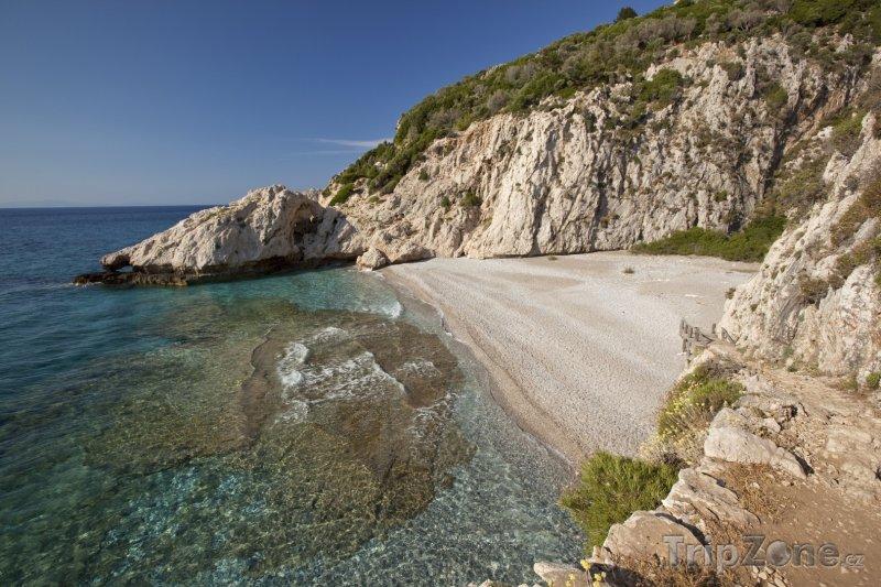 Fotka, Foto Pláž Micro Seitani na ostrově Samos (Řecko)