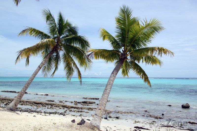 Fotka, Foto Pláž na ostorvě Savaii (Samoa)