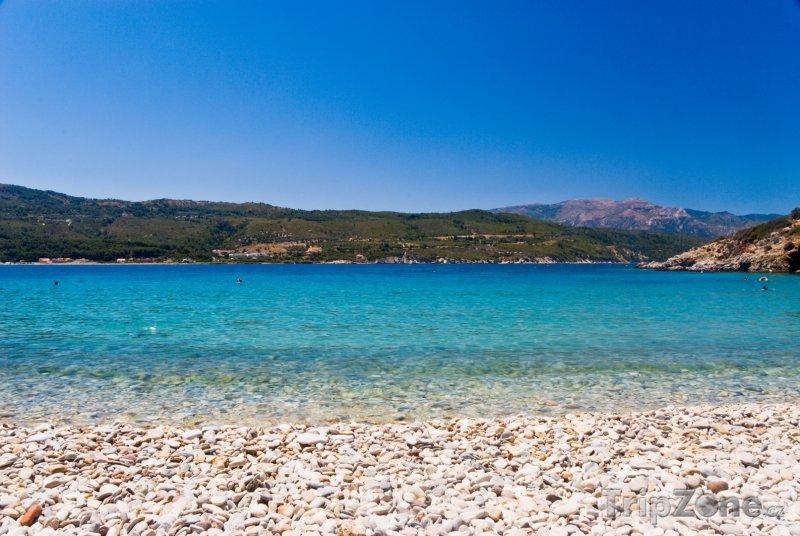 Fotka, Foto Pláž na ostrově Samos (Řecko)