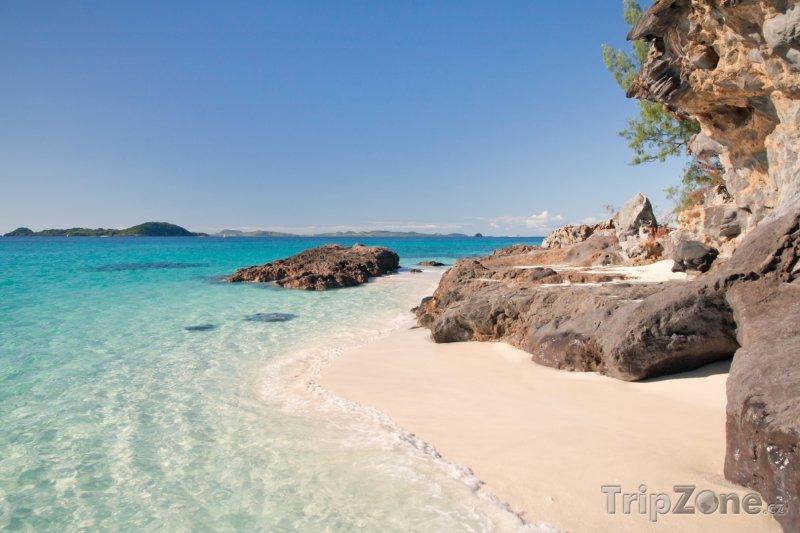 Fotka, Foto Pláž na ostrově Tsarabanjina (Madagaskar)