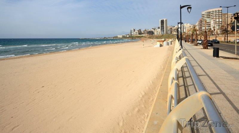 Fotka, Foto Pláž Ramlet el Baida (Bejrút, Libanon)
