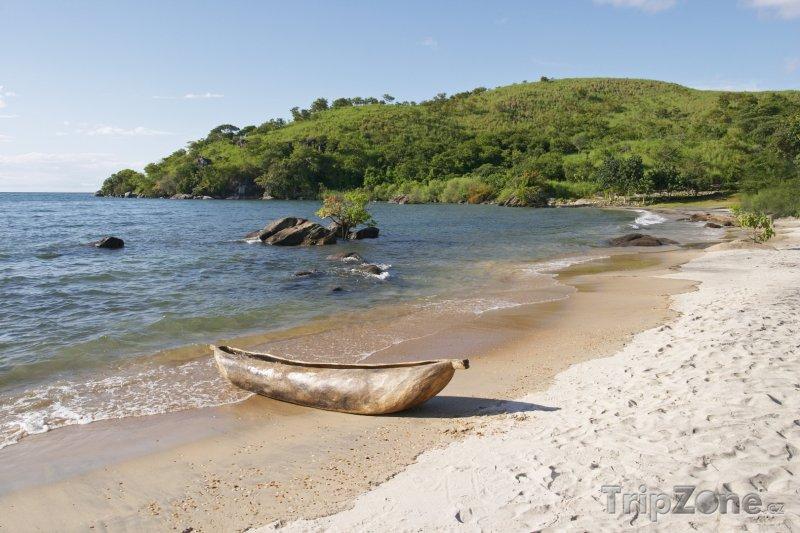 Fotka, Foto Pláž v Makuzi Bay (Malawi)