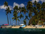 Pláž v Marigot Bay